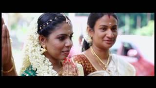 KERALA  WEDDING HIGHLIGHTS ANU + SARATH  BY VISUALMEDIA