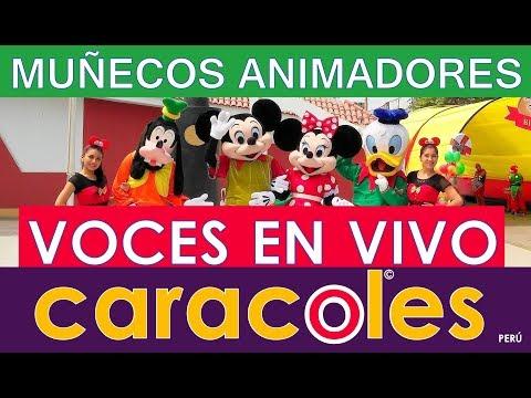 SHOW LA CASA DE MICKEY MOUSE VOZ EN VIVO caracoles FIESTAS INFANTILES Lima EL MEJOR SERVICIO DE LUJO