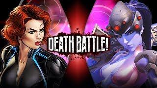 Black Widow VS Widowmaker (Marvel VS Overwatch) | DEATH BATTLE!