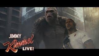 Dwayne Johnson on His Gorilla Best Friend in Rampage