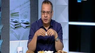 جابر القرموطي بيتسحر علي الهواء مع المشاهدين ويوجة الشكر لكل صحف مصر صحيفة صحيفة!