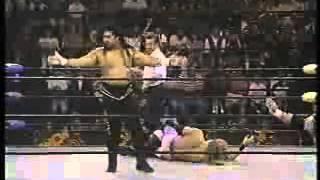 Edge vs  Meng WCW Nitro 1996