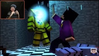 Five Nights At Freddy's Song Die In A Fire Reaction THIS SONG IS FIRE !!!