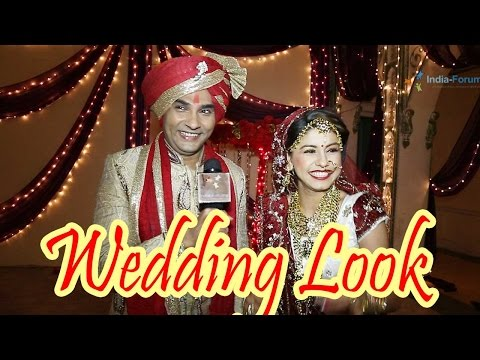 Neha Saroopa and Mazher Sayed talk about their wedding look