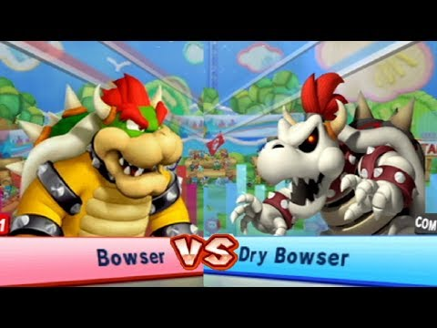 Mario & Sonic at the London 2012 Olympic Games - All Bosses (Rival Challenges)
