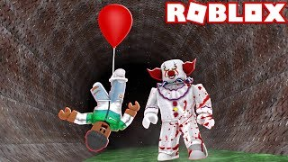 CAUGHT BY THE MURDERER!! - Roblox Halloween