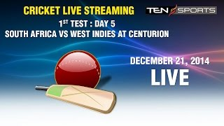 CRICKET LIVE STREAMING: 1st Test - South Africa v/s West Indies Day 5, Centurion