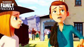 """Spirit Riding Free   New Clip """"The Auction"""" for Netflix family animated series"""