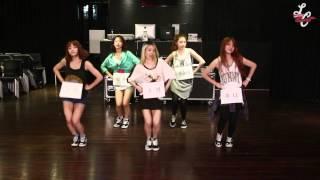 LADIES'CODE 'PRETTY PRETTY' DANCE PRACTICE VIDEO CLIP