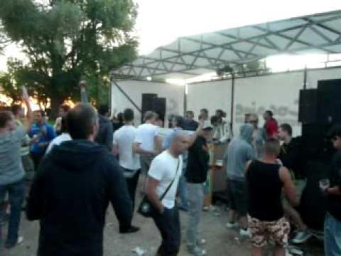 Rua & Jeffboy @ Wet Lake Beat, Zamárdi (Unofficial 0.day of Balaton Sound 2010) part 2