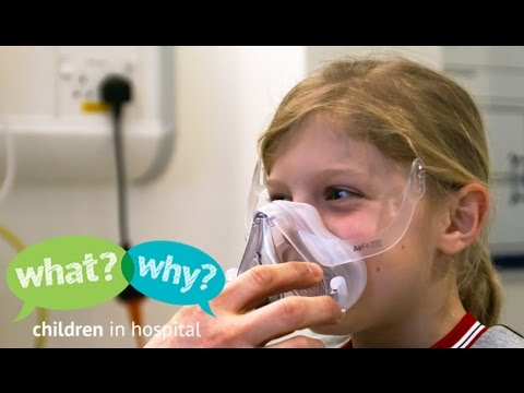 What happens when my child needs a breathing mask NIV CPAP at night