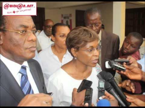 Réactions d'Aichatou Mindaoudou et Affi N'Guessan, après une rencontre des deux personnalités