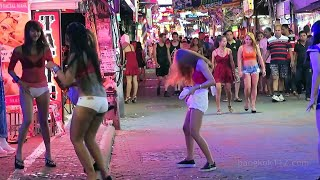 (Video 3D) Bangkok Gay Street Bar Nightlife Patpong Travel Documentary