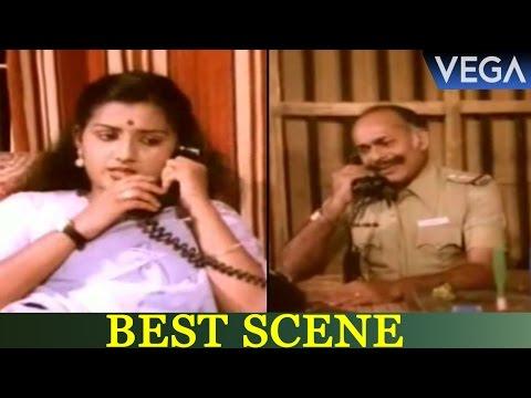 Prathapchandran & Menaka Conversation Scene    Kolakkomaban Movie Scenes