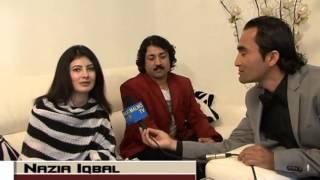 nazia Iqbal And Jawed Fiza In Danmark
