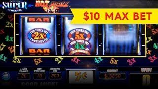 Hot Roll Super Times Pay Slot - BIG WIN, SHORT & SWEET!