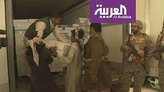 شاهد.. بدء وصول المساعدات إلى اليمن