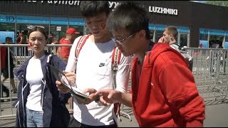 Chinese Young Volunteers Appreciate Working for World Cup in Russia