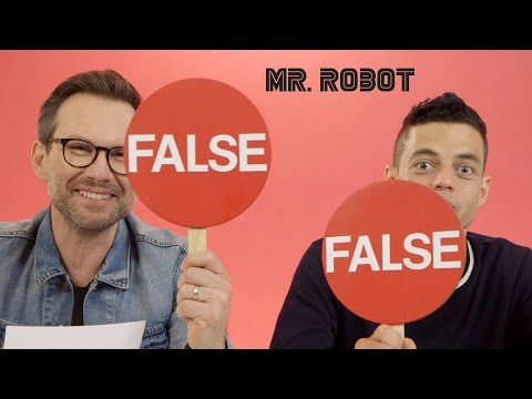 watch Hacking Facts with Rami Malek & Christian Slater// Presented by BuzzFeed & USA's Mr. Robot