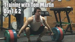 Training With Tom Martin - 202.5kg/446lbs Bench Press