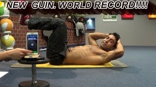1000 Sit Ups Abs NEW GUIN. WORLD RECORD