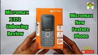 Micromax X372 Unboxing Review Bangla Tutorial 2018