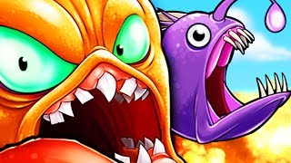 GIANT OCTOPUS WITH ANGLER FISH TENTACLE! - Octogeddon Part 5 | Pungence