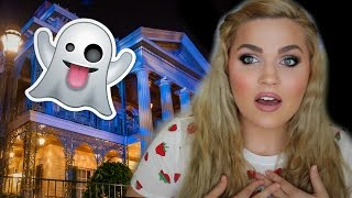 Ghosts at Disneyland   Scary Paranormal Haunted Mansion Storytime