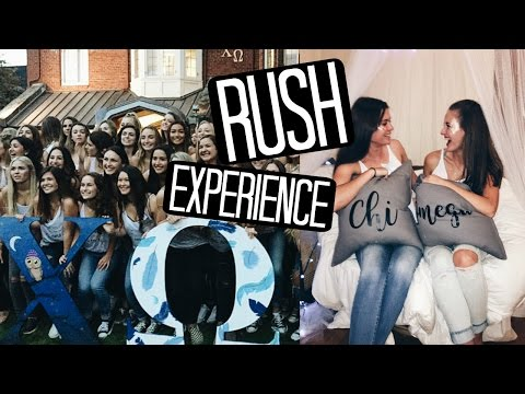 My Rush Experience at UO! + Vlog, Outfits, & Advice