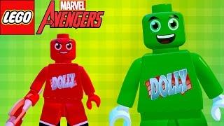 LEGO Marvel Avengers (Vingadores) Dollynho O Seu Amiguinho (MOD BIZARRO)