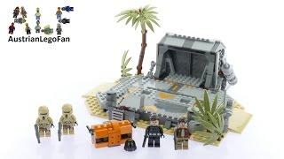 Lego Star Wars 75171 Battle on Scarif - Lego Speed Build Review
