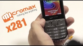 Micromax X281 - Краткий обзор от Buyon.ru