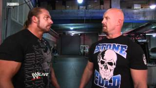 Raw: Triple H crosses paths with