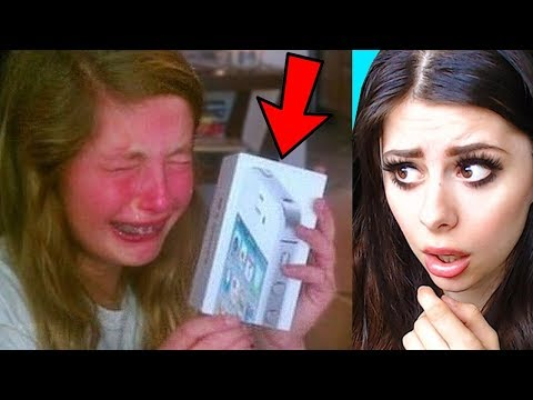 SPOILED KIDS Reacting to EXPENSIVE CHRISTMAS GIFTS Compilation PART 2