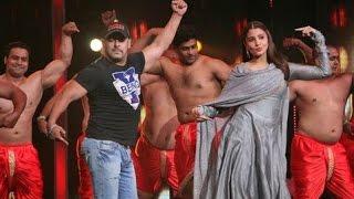 Salman Khan Zingat Song Dance At Sa Re Ga Ma Pa 2016