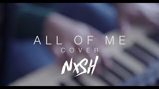 Nish - All Of Me (John Legend/Bangla Cover) | Official Video