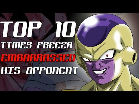 Top 10 Times Frieza Embarrassed His Opponent