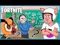 TRYING To TEACH VANOSS How To Play Fortnite Battle Royale Fortnite Funny Moments mp3
