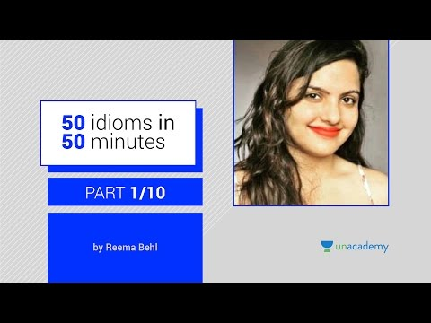 watch Idioms And Phrases With Meanings By Reema Behl - Part 1