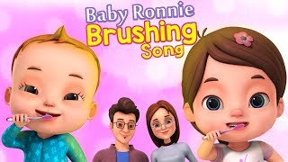 Brushing Song And More Good Habits Songs | Baby Ronnie Nursery Rhymes | Videogyan 3D Rhymes