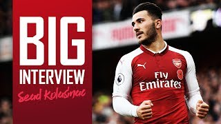 I'M PLEASED THE FANS LIKE MY PLAYING STYLE | Exclusive in-depth interview with Sead Kolasinac