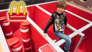 Fun at McDonald