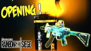 OH BLACK ICE CAMO ! ALPHA PACK OPENING RAINBOW SIX SIEGE
