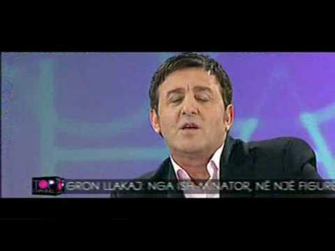 Agron Llakaj imiton komentatorin Ahmet Shqarin