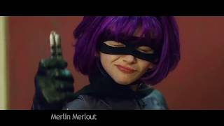 Throwing knives with Hit-Girl
