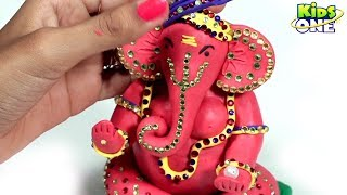 How To Make Ganesh Idol At Home With Play Doh