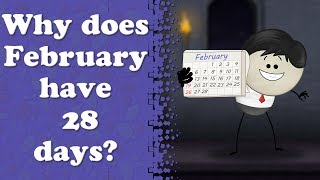 Why does February have 28 days? | #aumsum