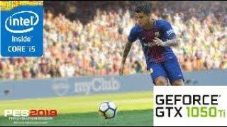 Pro Evolution Soccer 2019 [DEMO]: GTX 1050 TI 4GB i5 4460