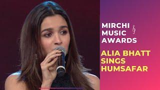 Alia croons Humsafar from Badrinath ki Dulhania at Royal Stag Mirchi Music Awards | #RSMMA