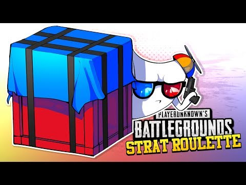 PUBG Strat Roulette Airdrop Crates ONLY
